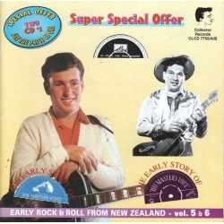 Various - The Early Story of His Master's Voice (Early Rock & Roll From New Zealand - Vol. 5 & 6) (CD)
