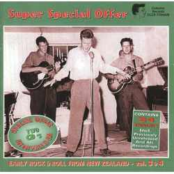 Various - Early Rock & Roll From New Zealand - Vol. 3 & 4 (CD)
