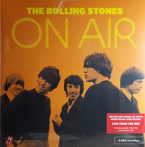 THE ROLLING STONES - THE ROLLING STONES ON AIR (VI - The Rolling Stones - The Rolling Stones On Air (Vinyl) - LP x 2