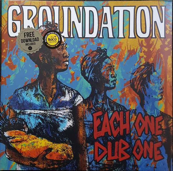 GROUNDATION - EACH ONE DUB ONE (VINYL) - Groundation - Each One Dub One (Vinyl) - LP x 2