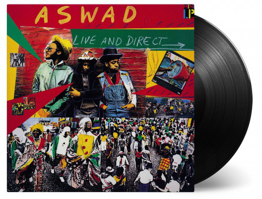 ASWAD - LIVE AND DIRECT (VINYL) - Aswad - Live And Direct (Vinyl) - LP