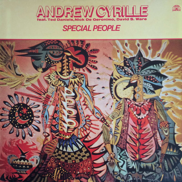 ANDREW CYRILLE - SPECIAL PEOPLE (VINYL) - Andrew Cyrille - Special People (Vinyl) - 33T