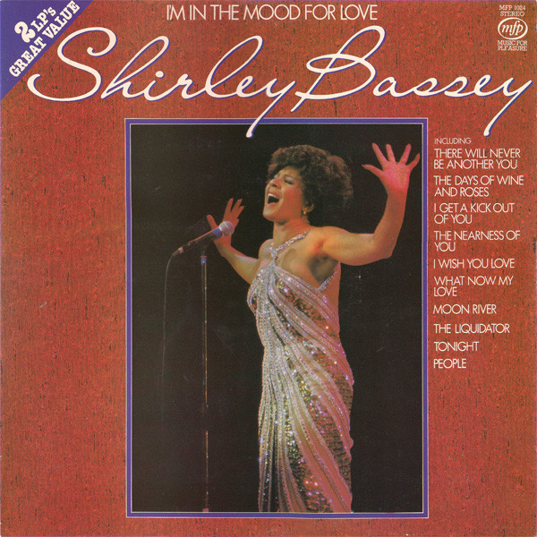 SHIRLEY BASSEY - I'M IN THE MOOD FOR LOVE (VINYL) - Shirley Bassey - I'm In The Mood For Love (Vinyl) - 33T x 2