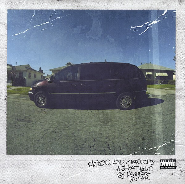 KENDRICK LAMAR - GOOD KID M.A.A.D CITY (VINYL) - Kendrick Lamar - Good Kid m.A.A.d City (Vinyl) - 33T x 2