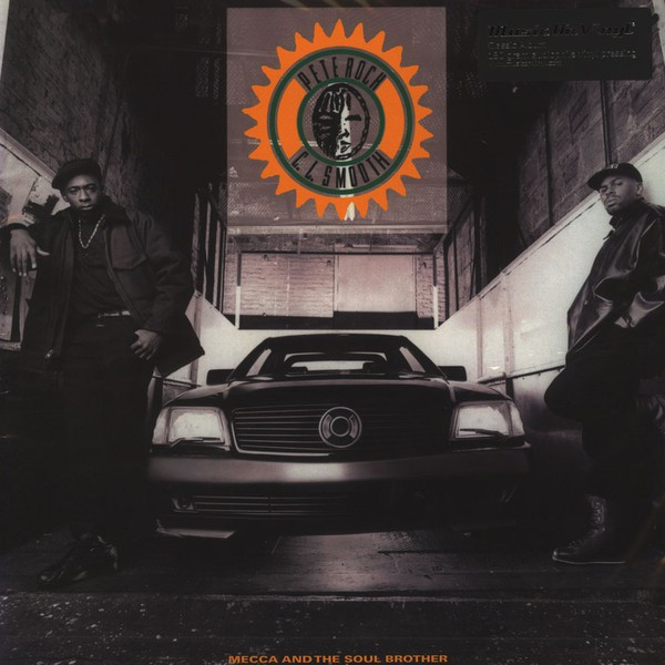 PETE ROCK & C.L. SMOOTH - MECCA AND THE SOUL BROTH - Pete Rock & C.L. Smooth - Mecca And The Soul Brother (Vinyl) - 33T x 2