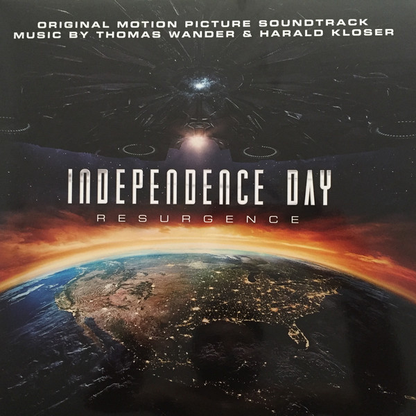 Thomas Wander Harald Kloser - Independence Day - R - Thomas Wander Harald Kloser - Independence Day - Resurgence (Original Motion Picture Soundtrack) (Vi - LP